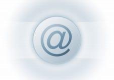 символ почты e Стоковые Фото