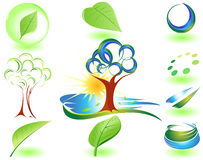 символ природы Стоковое Изображение