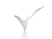 символ проверки 3d Стоковые Фотографии RF