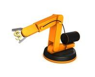 символ робота сжатия доллара рукоятки Стоковое Изображение
