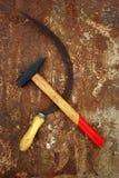 символ Совета серпа молотка Стоковое Изображение