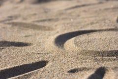 символ солнца песка Стоковое Изображение