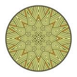 Символ солнца Языческий талисман Стоковая Фотография