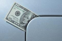 символ цены нефти масла поднимая Стоковые Фото