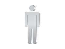 символ человека 3d Стоковые Фото