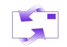 символ электронной почты Стоковые Изображения RF