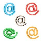 символ электронной почты Стоковое Изображение RF