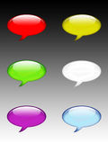 символ диалога Стоковая Фотография