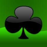 символ 01 покера Стоковое фото RF