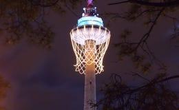 символ 2012 европейца баскетбола Стоковые Фото