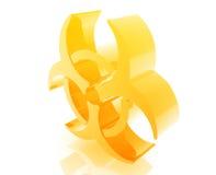 символ biohazard бесплатная иллюстрация