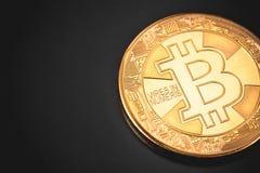 символ bitcoin стоковые фото