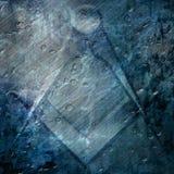 Символ freemason Grunge иллюстрация вектора