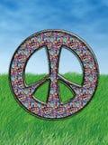символ hippie Стоковые Фото