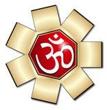 символ om aum Стоковое Изображение RF