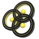 символ triplex иллюстрация штока