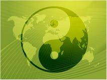 Символ Yin Yang Стоковые Изображения RF