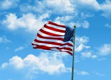 Символ американца Стоковая Фотография RF