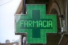 Символ аптеки Стоковые Изображения