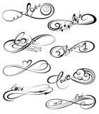 4 символа орла Стоковое Изображение