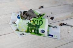 символ (банкротство, финансовый кризис) Стоковая Фотография RF