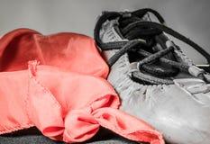 Символ баскского фестиваля с шарфом, концепции лета праздника предпосылки ботинка abarka Стоковая Фотография RF