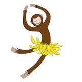 Символ в 2016 танцуя обезьянах Стоковое Фото