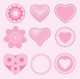 Символ влюбленности Стоковое Изображение