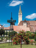 Символ города Румынии средств Стоковое фото RF