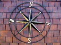 Символ декоративного ветра розовый Стоковая Фотография