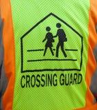 Символ жилета предохранителя скрещивания Стоковая Фотография