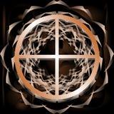 Символ земли на абстрактной предпосылке бесплатная иллюстрация