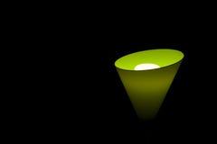 символ зеленого света стрелки авиапорта Стоковые Фотографии RF