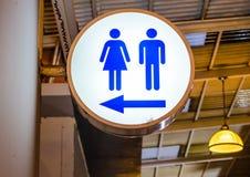 Символизируйте туалеты Стоковые Изображения
