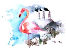 символизм морей рек предохранения от океанов окружающей среды Стоковое Фото