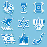 Символ Израиля Стоковое Изображение RF