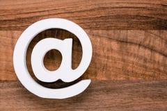 Символ интернета значка электронной почты Стоковые Изображения