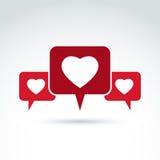 Символ, дискуссионный форум и переговор консультации семьи дальше бесплатная иллюстрация