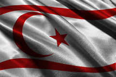 Символ иллюстрации флага 3D Кипра Стоковое Изображение
