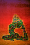 Символ йоги Стоковое фото RF