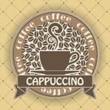 Символ кофе Стоковые Фото
