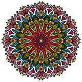 Символ красивой мандалы индусский Стоковые Изображения