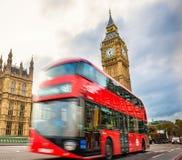 Символ Лондона, большого ben, Лондона Великобритании Стоковое Изображение