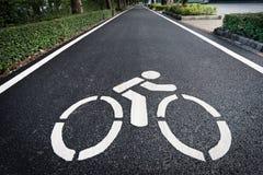 Символ майны велосипеда стоковые фотографии rf