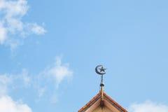 Символ мусульманства Стоковые Фото