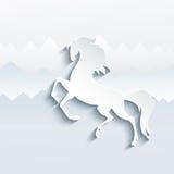 Символ Нового Года лошади - иллюстрация,  стоковое фото rf
