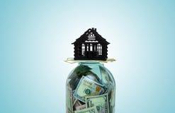 Символ домашних покупок Стоковая Фотография RF