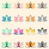 Символ лотоса Стоковые Фото
