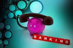 символ процента дег рук принципиальной схемы банка Стоковые Фото