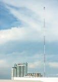 символ радио иконы кнопки антенны Стоковые Фотографии RF